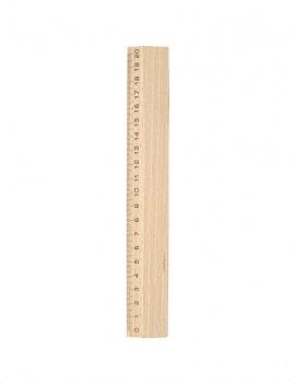 Règle en bois - 20 cm