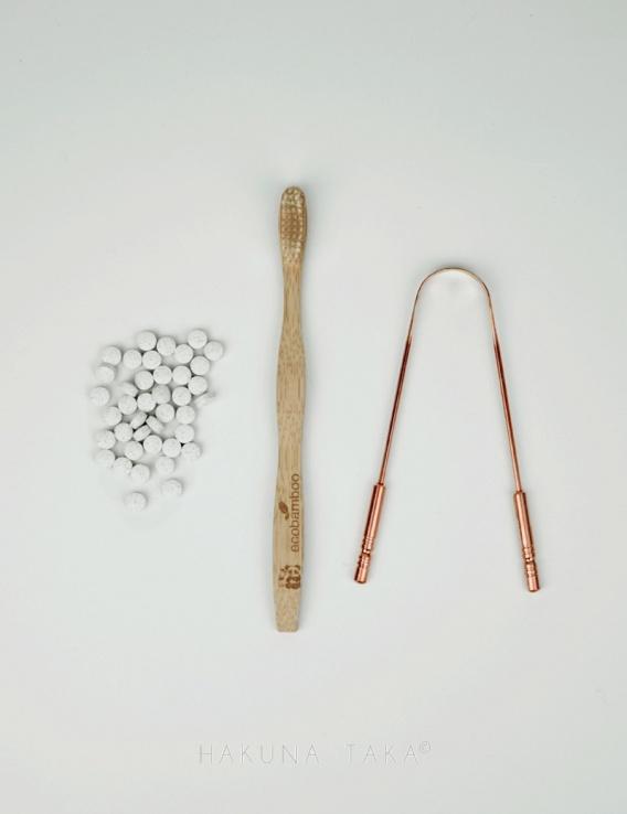 Kit zero dechet hygiène bucco-dentaire