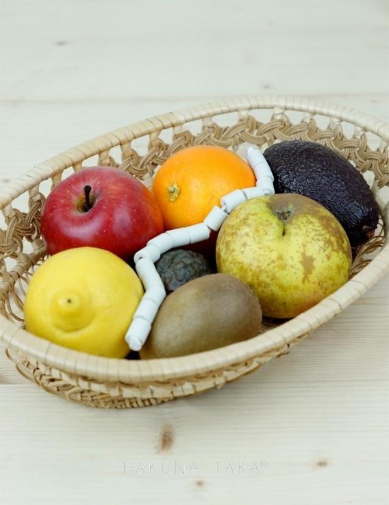 Perles de ceramique fruits et légumes