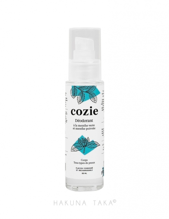 Déodorant zéro déchet bio en spray - Flacon verre rechargeable