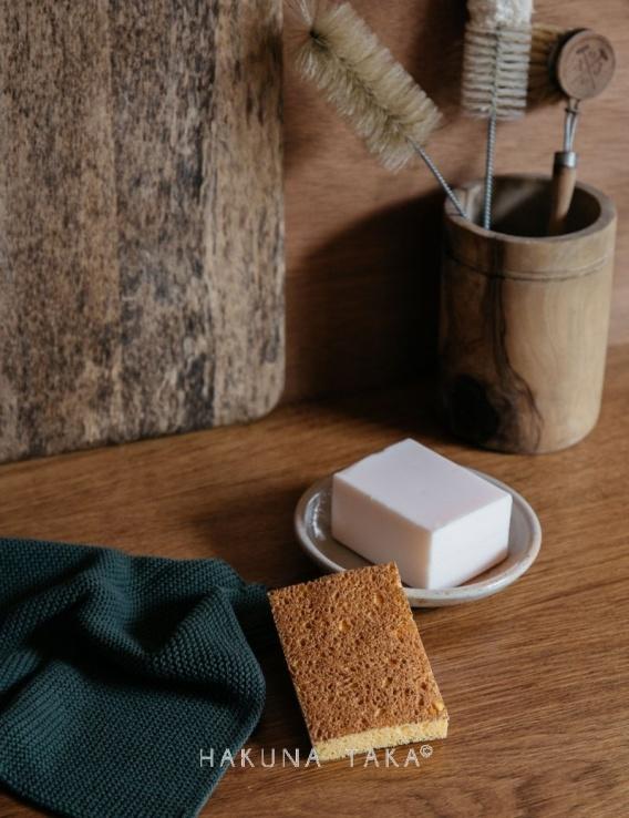 Eponge biodegradable vaisselle