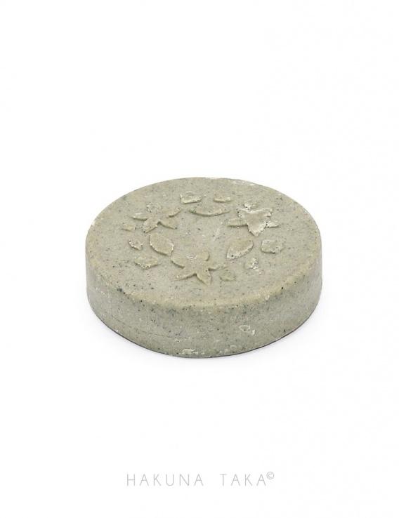 Shampoing solide Lamazuna spriruline & argile verte - Cheveux gras