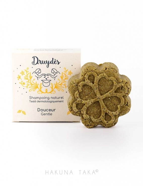 Shampoing solide doux Druydès