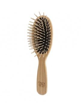 Brosse à cheveux en Bois - Picots longs