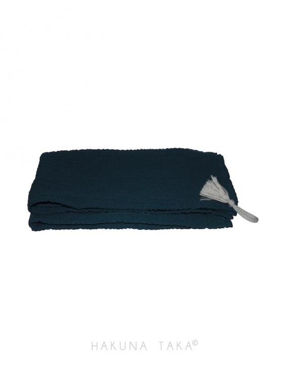 Torchon / Furoshiki - bleu