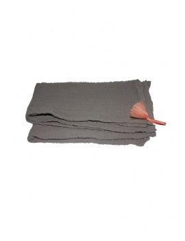 Torchon / Furoshiki - gris