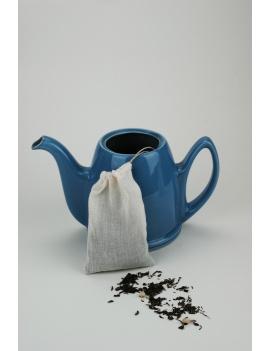 Sachet de thé lavable coton bio - Format théière