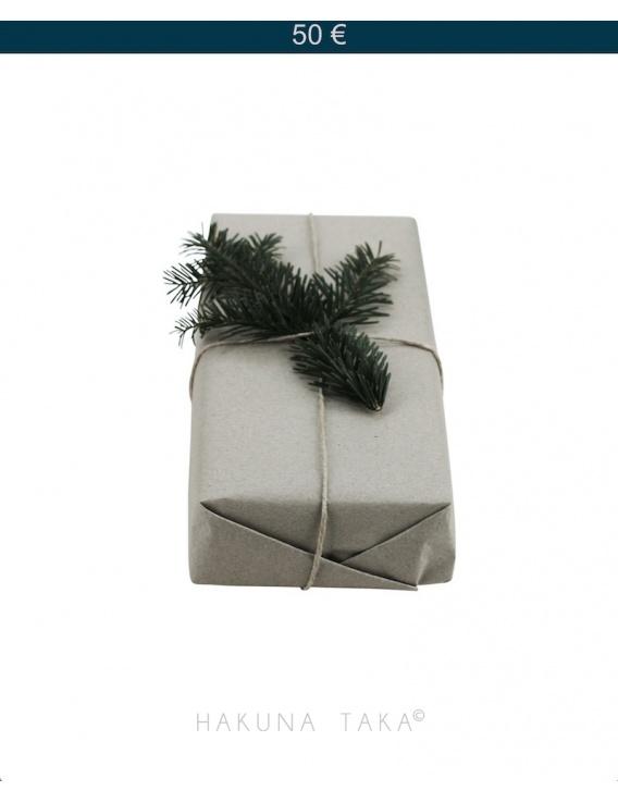 Carte cadeaux 50 €