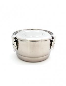 Boite inox ronde 16 cm