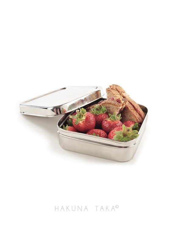 Lunch box inox - Carrée