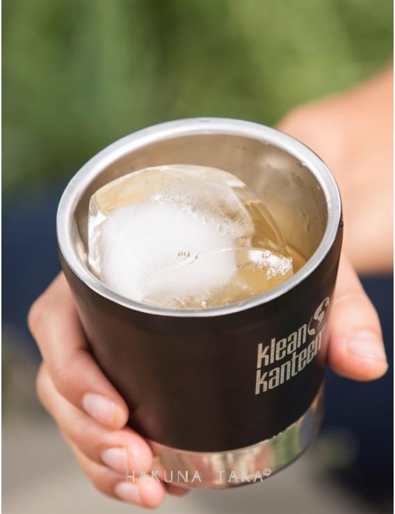 Gobelet inox isotherme Klean Kanteen - Noir