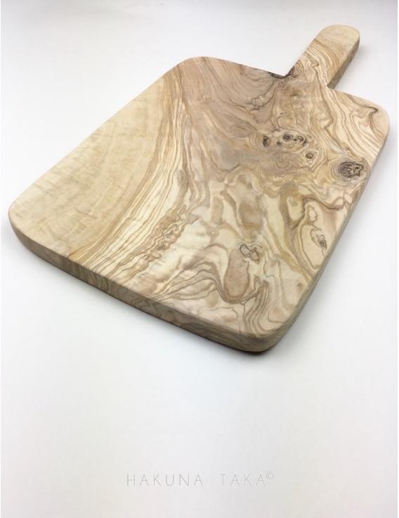 Planche à découper en bois d olivier - Grande