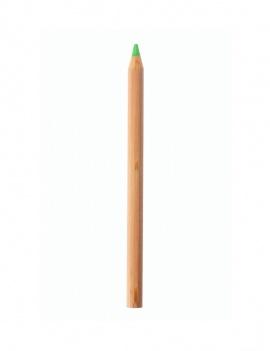 Crayon fluo en bois - Vert