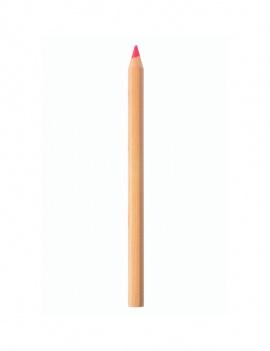 Surligneur fluo en bois - Rose