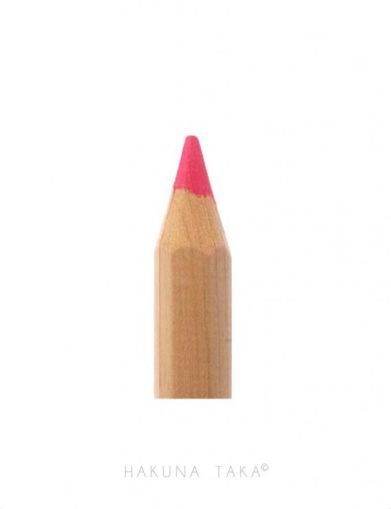 Crayon fluo en bois - Rose