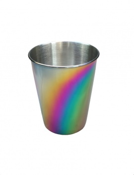 Gobelet inox 270 ml Arc-en-ciel