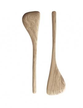 Spatule en bois - Lot de 2