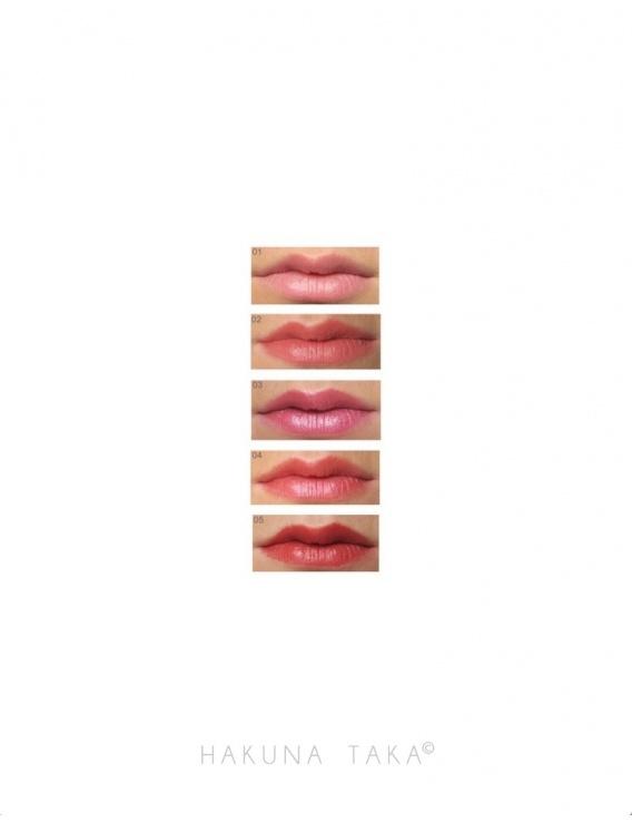 Rouge à lèvres vegan - 01