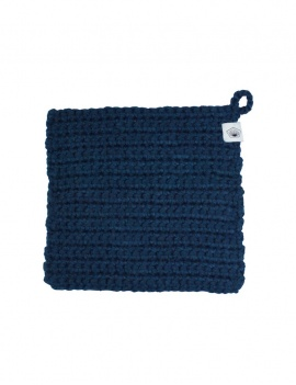 Lavette 16x16 cm - Bleu marine