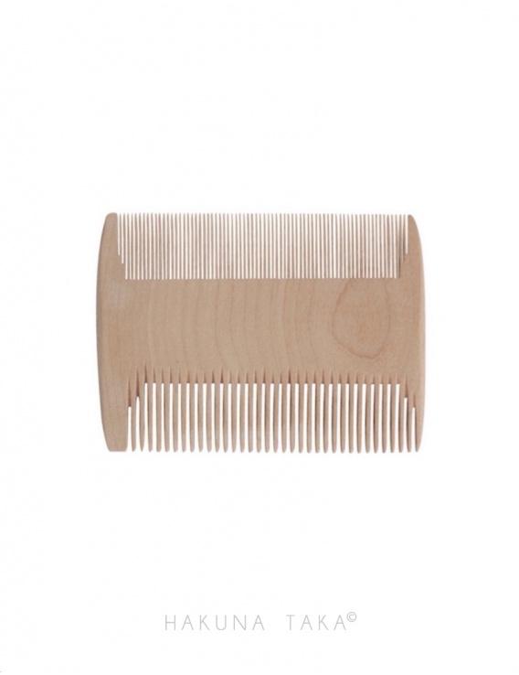 Peigne à poux en bois
