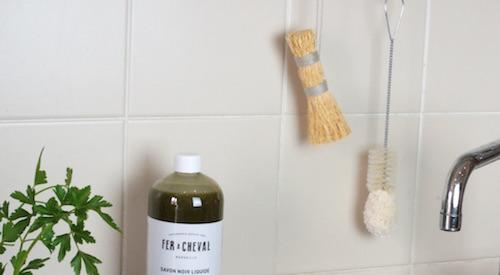 Brosse vaisselle fibres naturelles