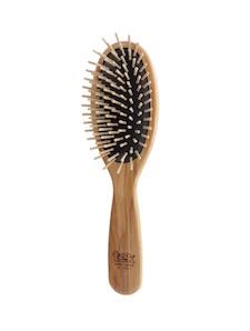 cadeau noel brosse à cheveux en bois