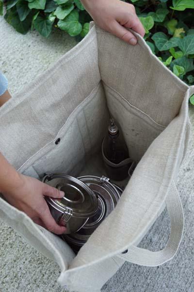 comment utiliser un cabas isotherme