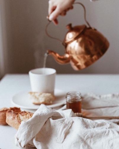sac à pain en coton Dans le sac